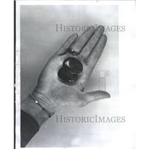 1976 Press Photo Pebble Stones Nature Mining