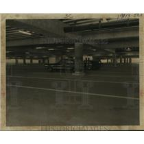 1969 Press Photo Parking deck at Houston Intercontinental Airport - hca34994
