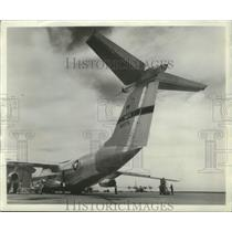 1964 Press Photo Lockheed C-141 Starlifter Prepared For Another Flight