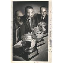 1964 Press Photo Sports Car Racers Dick Dresler, Jim Spencer And Bill Wuesthof