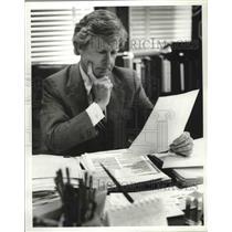 1981 Press Photo Ed Selfe, Birmingham-Jefferson County Transportation Authority