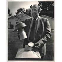 1986 Press Photo Charles Porter, Director of US EPA's Eastern ERF in Montgomery