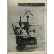 1931 Press Photo Santa Maria Ship Replica - RRX42665