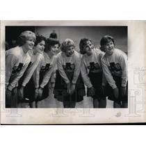 Press Photo Augustana College Cheerleaders Twedell - RRW69605
