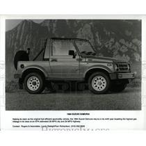 1994 Press Photo Fuel Efficient Vehicle Suzuki Samurai - RRW62545