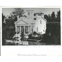 1963 Press Photo Henry B Clarke Home Michigan Avenue