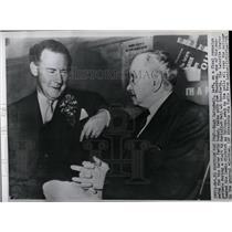 1959 Press Photo Hugh Gaitskell,Laborite leader - RRW06811