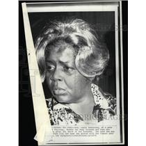 1971 Press Photo Mrs. Louis Armstrong