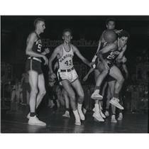 1953 Press Photo Basketball - Marquette University Plays Wisconsin - mjt09599