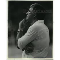 1967 Press Photo Forrest Gregg, coach for the Green Bay Packers - mjt09363