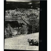 1940 Press Photo Lillehamnmer Norway Near Battlefront - RRX70495