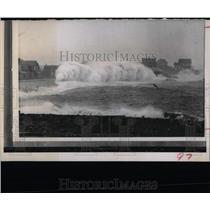 1968 Press Photo New England Green Hill Northeast Coast
