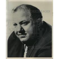 1972 Press Photo Abe Gibron, Chicago Bears football head coach - mjt08751