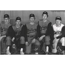 1972 Press Photo The UWM Panthers baseball team - mjt13337