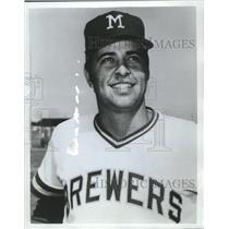 1973 Press Photo Milwaukee Brewers baseball pitcher, Gary Ryerson - mjt13776