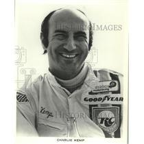 1973 Press Photo Charlie Kemp, race car driver. - mjt15395