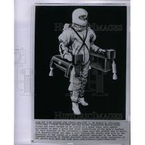 1964 Press Photo Lunar Taxi Rocket Propulsion Moon - RRX49949