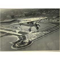 1977 Press Photo Experimental Aircraft Association replica of Spirit of St Louis