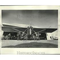 1977 Press Photo Spirit of St. Louis Replica Experimental Aircraft Association