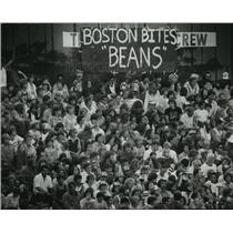 1978 Press Photo Fans jam ballpark for Milwaukee Brewer & Boston Red Sox game