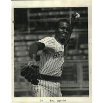 1979 Press Photo Milwaukee Brewers - Ben Oglivie, Left Fielder - mjc27632