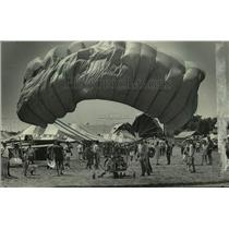 1984 Press Photo a Para Plane at Experimental Aviation Association Airshow, WI