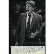 1984 Press Photo Don Nelson named NBS Basketball Coach of the Year. - mjt11601