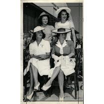 1941 Press Photo Maj.General John F Curry's family - RRW19721