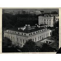 1934 Press Photo Washington DC White House Executive - RRX79177