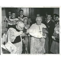 1957 Press Photo Jackson Albany Basilica Our Lady Pius