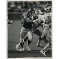 1989 Press Photo Minnesota Vikings football defensive tackle, Keith Millard