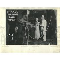 1933 Press Photo Chicago World Fair Diamond Mine - RRW53471