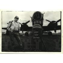1994 Press Photo B-17 Bomber at Experimental Aircraft Association Fly-In Oshkosh