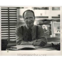 Press Photo Richard Sturgeon, Berry, Alabama, Teacher - abna38830