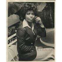 1977 Press Photo Eleanor Hicks, U.S. State Department attache - nob46190