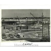 1982 Press Photo Newly opened entrance and exit at the Kenner Airport