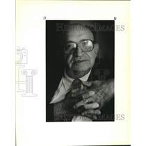 1989 Press Photo Current picture of Henry Lasoski, a Polish Jewish survivor.