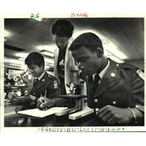 Press Photo Students-John F. Kennedy Academy for Math, Science and Engineering