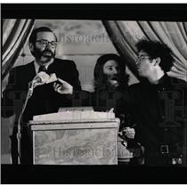 1970 Press Photo Joseph Coates chairman microphone - RRW64833