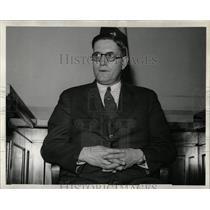 1938 Press Photo Hugh O Turney Detroit Policeman - RRW83875