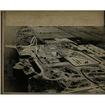 Press Photo Quad Cities Nuclear Generating Plant