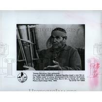 1983 Press Photo Thomas Bancyacya Hopi Indian Spokesman - RRW84757