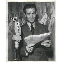 1945 Press Photo Jeffrey Lynn  American actor school teacher Hollywood Stars
