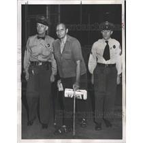 1953 Press Photo George Posvar Jack Pinneo Harvey Jail - RRX87329