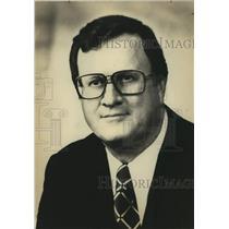1975 Press Photo San Antonio Spurs basketball team owner Red McCombs - sas17682