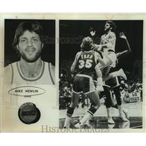 1978 Press Photo Houston Rockets basketball player Mike Newlin - sas17883