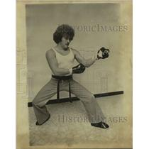1979 Press Photo Kickboxer Steve Ashcraft - sas17740