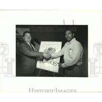 1994 Press Photo San Antonio Tejanos baseball team officials - sas18088
