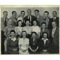 1944 Press Photo Milwaukee Journal, State Circulation (Office) Employees