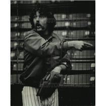 1979 Press Photo Gorman Thomas of the Milwaukee Brewers baseball team